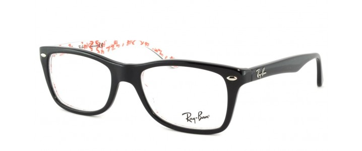 387 Ray Ban 5228 Black Official Ray Ban Outlet